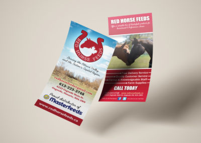 Red Horse Feeds - Brochure